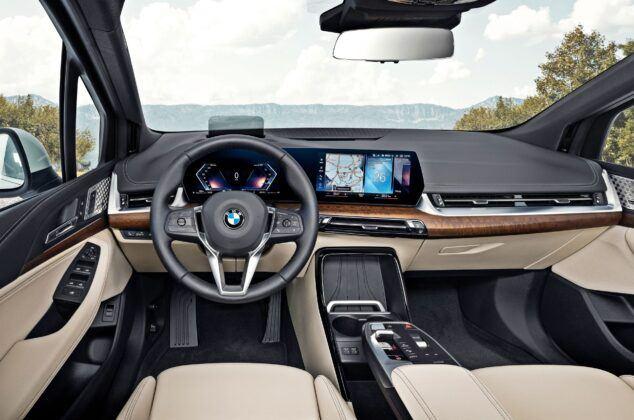 BMW serii 2 Active Tourer - deska rozdzielcza