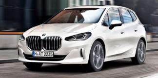 BMW serii 2 Active Tourer - przód