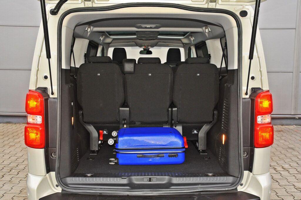 Citroen SpaceTourer - bagażnik