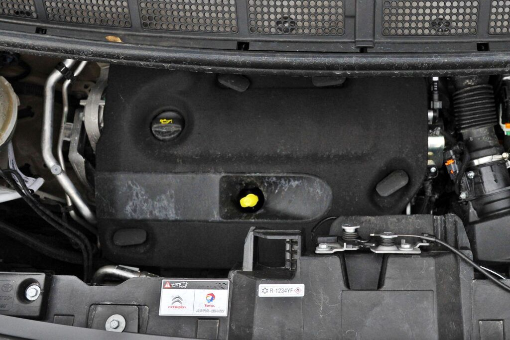 Citroen SpaceTourer - silnik