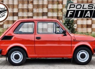 Ile wyciągnie Fiat 126p na autostradzie? Ekstremalny test Malucha