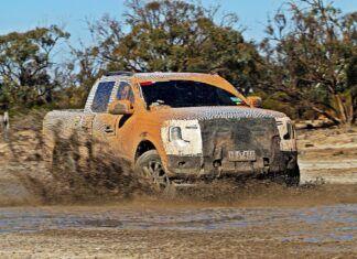 Nowy Ford Ranger coraz bliżej. Trwają ostatnie testy