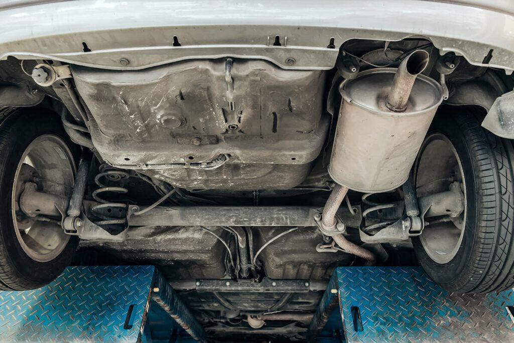 Katalizator w samochodzie