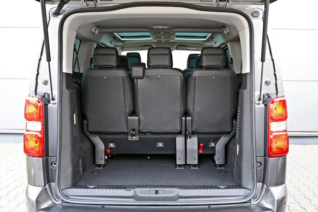 Peugeot Traveller - bagażnik