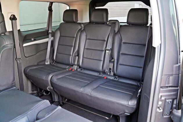 Peugeot Traveller - 3. rząd siedzeń