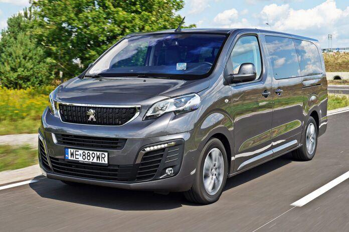 Peugeot Traveller - przód
