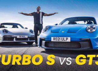 Porsche 911 GT3 kontra Porsche 911 Turbo S – porównanie