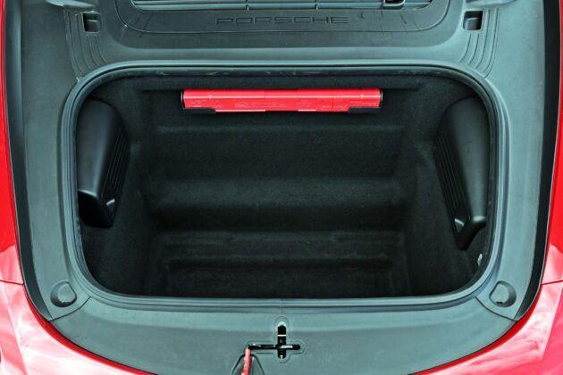 Porsche 718 Cayman - przedni bagażnik