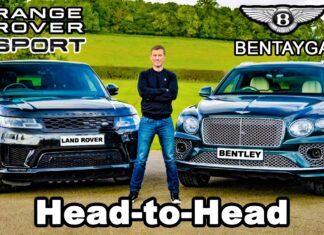 Range Rover Sport kontra Bentley Bentayga – porównanie