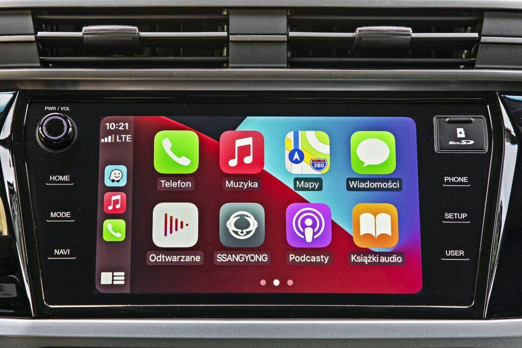 SsangYong Korando - Apple CarPlay