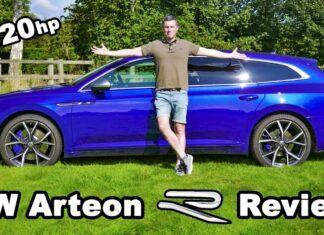 Volkswagen Arteon R Shooting Brake – test 320-konnego kombi