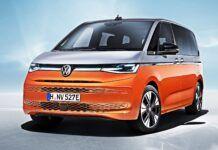 VW Multivan T7 - przód