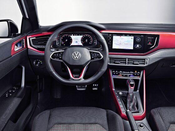 VW Polo GTI - deska rozdzielcza